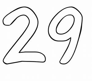 Color by Number Printables Number 29 | Color by Number Org