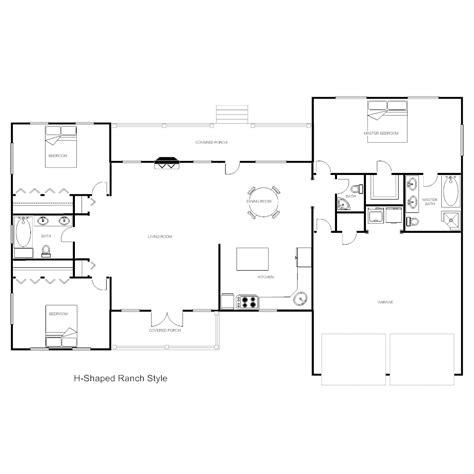 floor plan templates draw floor plans easily  templates