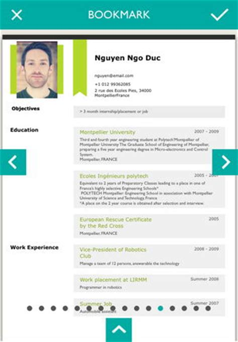 Resume Designer Pro Ipa by News App Resume Designer Pro มาสร าง Resume สวยๆ