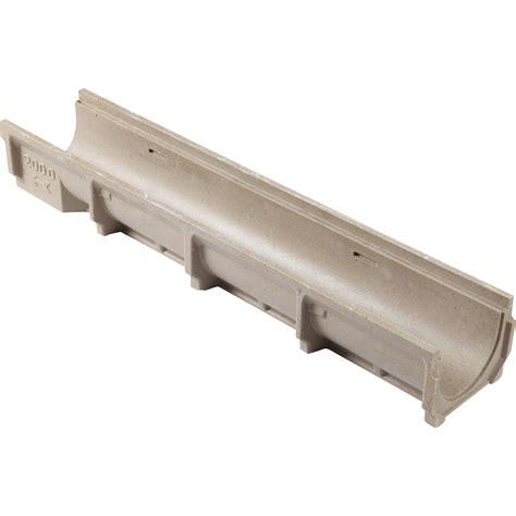 elements cuisine brico depot caniveau meagard 200 béton polymère l 15 cm l 1 m leroy