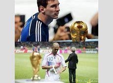 Zidane and Messi so near , yet so far Troll Football