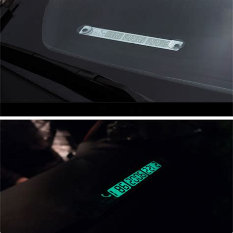 light in the box phone number portable car temporary parking card billboard light