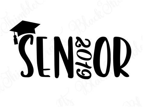 Senior Svg Senior 2019 Svg Graduation Svg College