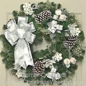 white christmas wreath artificialchristmaswreaths com christmas wreaths