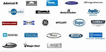 Appliance Repair Refrigerator Logos Houston Freezer Brands