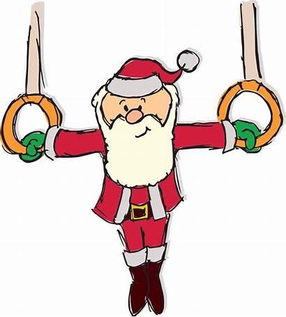 Clipart Holiday Member Gymnastics Clip Club Tumbling