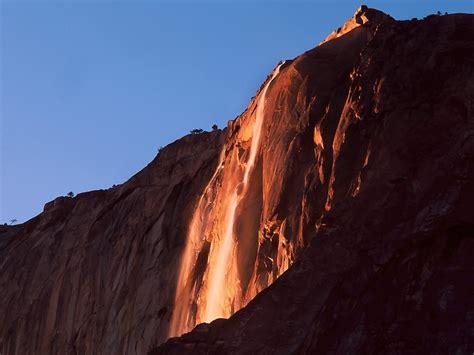 Take Look The Dazzling Firefall Yosemite National