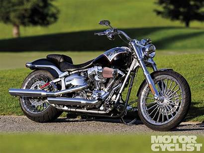 Harley Davidson Breakout Cvo Softail Motorcycle Wallpapers