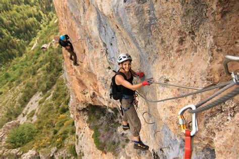 via ferrata in the south of france active azur