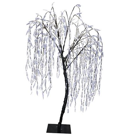 outdoor decor 6 5 pre lit led willow