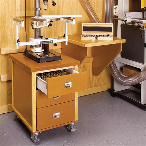 drawer utility cabinet woodworking plan  wood magazine