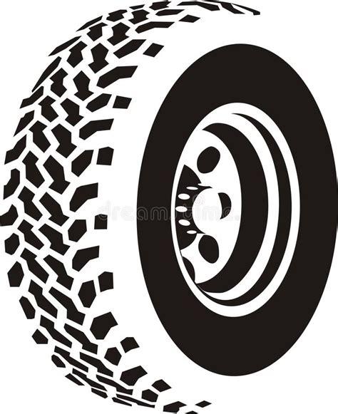tire stenciel template tire illustration stock vector illustration of sign