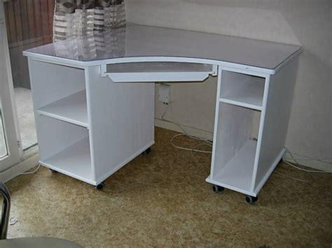 bureau d angle pivotant bureau d 39 angle laqué blanc louis l 39 ébéniste