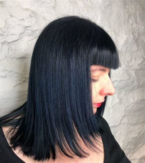 And Black Hair by 19 Most Amazing Blue Black Hair Color Looks Of 2019