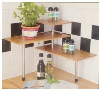 etagere d angle cuisine etagere d 39 angle bambou tablette d 39 epices cuisine ou