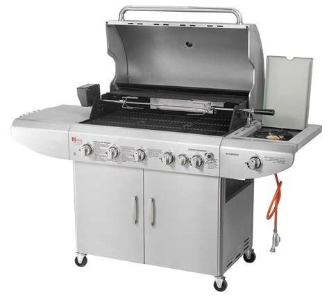 bbq gasgrill edelstahl grillwagen barbecue garten gas grill grillen broilcue ebay