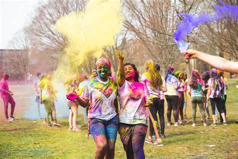 color run  holi festival news lafayette college