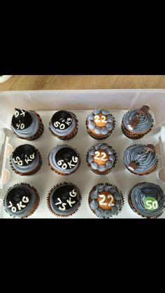 kettlebell cupcakes black flag crossfit party  envied