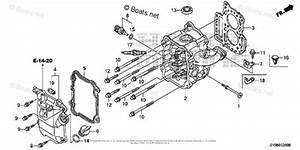 Honda Outboard Parts By Hp  U0026 Serial Range 20hp Oem Parts