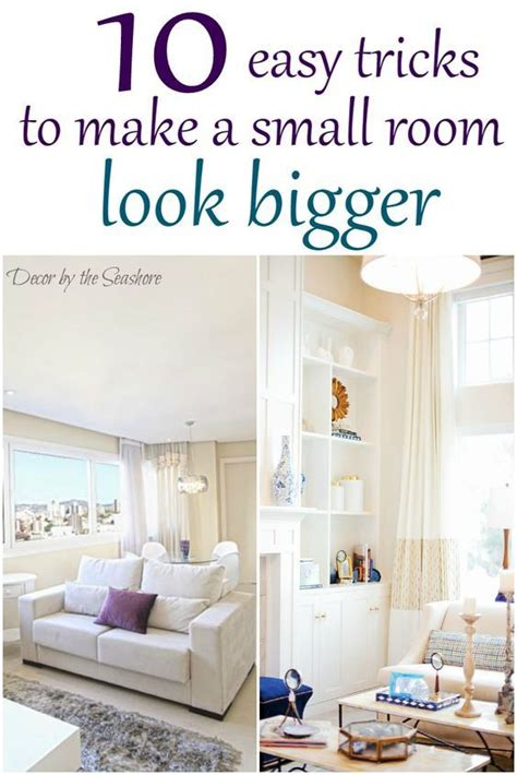 Paint Colors To Make Living Room Look Bigger by How To Make A Small Room Look Bigger Small Homes Home