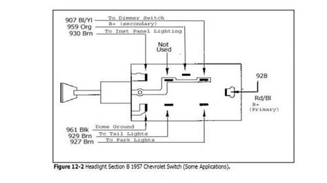 55 chevy headlight wiring diagram 33 wiring diagram