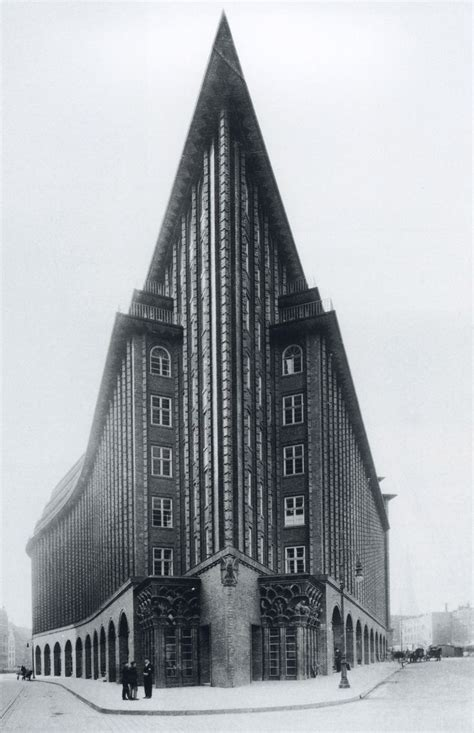Expressionismus Architektur Merkmale by Chilehaus Hamburg Fritz H 246 Ger 1924 Expressionist