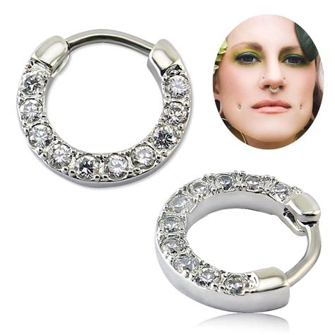 Online Buy Wholesale types nose piercing jewelry from