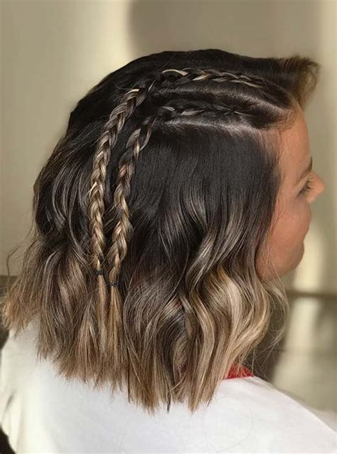 23 Quick and Easy Braids for Short Hair Page 2 of 2