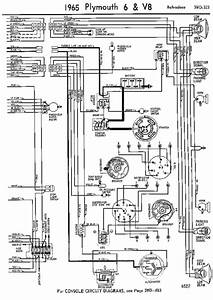 Wiring Diagrams Of 1965 Plymouth 6 And V8 Belvedere Part 2