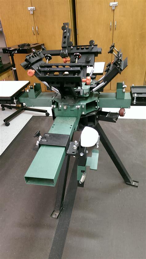 vastex  station  color screen printing press
