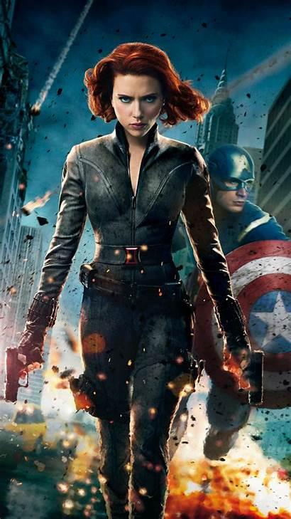 Avengers Widow Wallpapers Htc