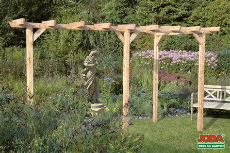 Pergola Holz Kaufen by Holz Pergola Komplett Bausatz 3 Pfosten
