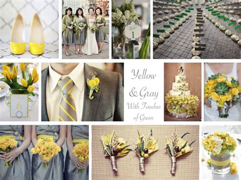 Yellow & Gray With Green
