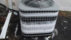 2004 Carrier 3-ton Heat Pump Extremely Frozen Again