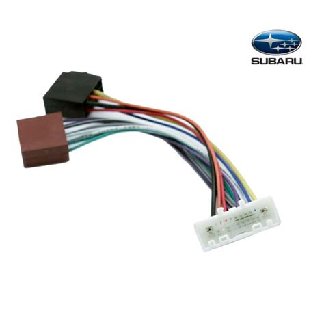 Subaru Kenwood Radio Wiring Harnes by Connects2 Stereo Wiring Harness Adaptor Iso Lead For