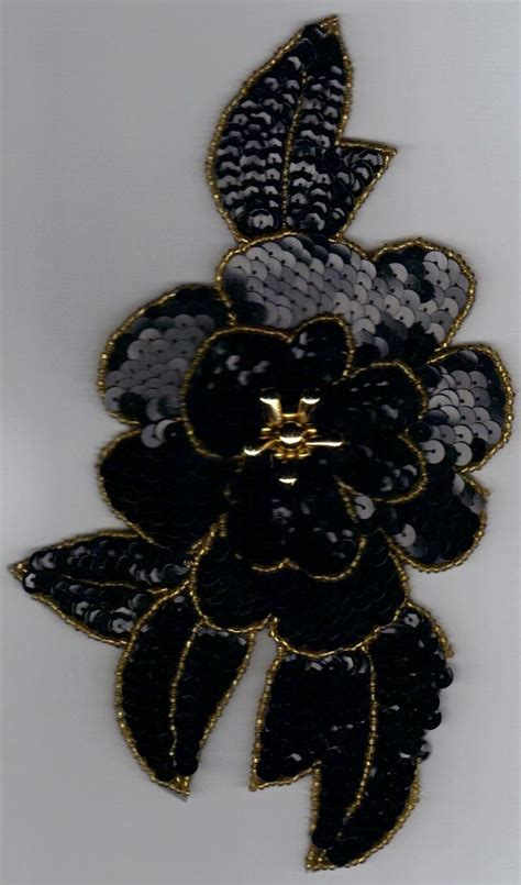 gold applique sequined applique black gold jpg 800 215 1 360 pixels