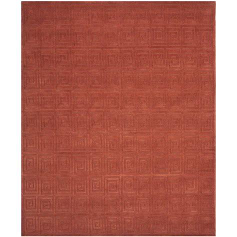 safavieh tibetan rugs safavieh tibetan rust 6 ft x 9 ft area rug tb108d 6