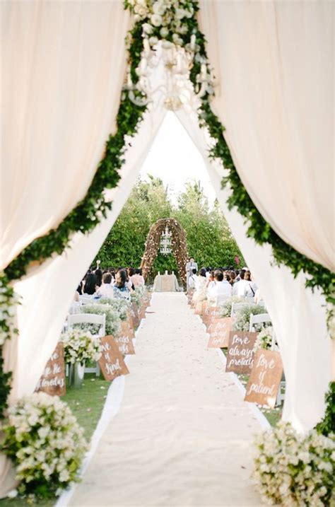 Garden Decoration Wedding by 21 Pretty Garden Wedding Ideas For 2016 Tulle