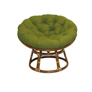 rattan papasan chairs with fabric cushions at brookstone buy now