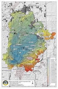 Arizona Hiking  Wallow Fire Maps