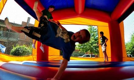bounce house rental happy bouncers party rentals groupon