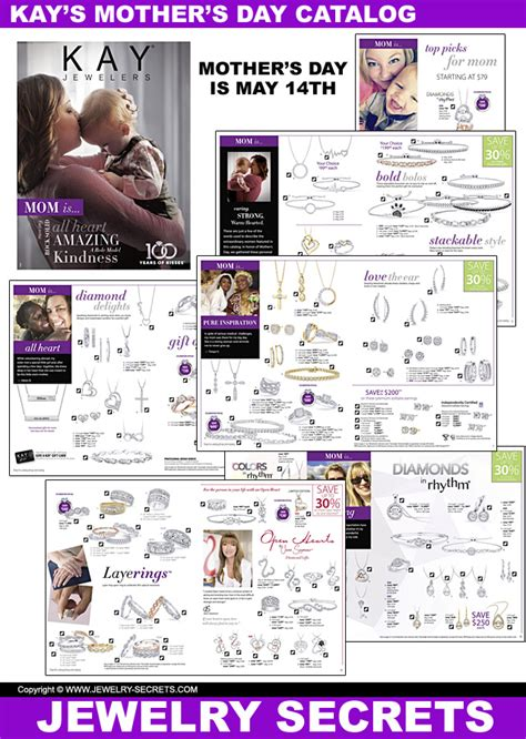 kay jewelers mothers day catalog  jewelry secrets