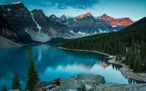 Canada, Moraine, Lake