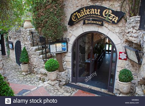 Restaurant Chateau Eza At Medieval Èze Village Provence