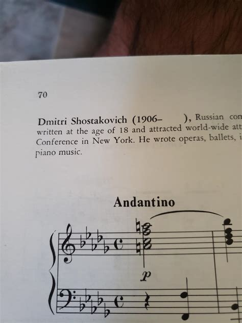 Join me for a rollick. This piano book was made when Shosty was still alive! So old : classicalmusic
