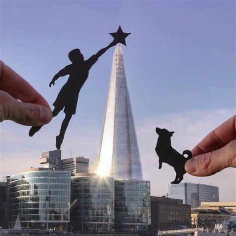 photographer  paper cut outs  transform famous
