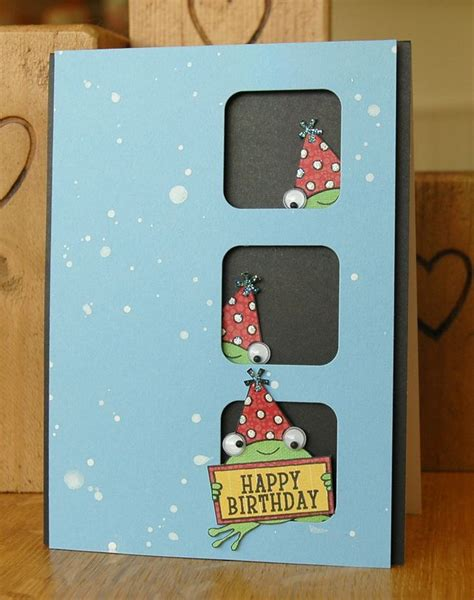 If you only have a limited time then you can choose a simple one. 17 Best images about cute handmade birthday cards on Pinterest   Masculine cards, Birthday ...