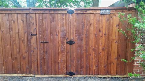 ft board  board gate cap fence companies gate