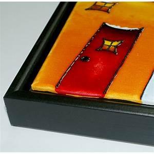 Comment Encadrer Une Toile : comment encadrer une toile ~ Voncanada.com Idées de Décoration