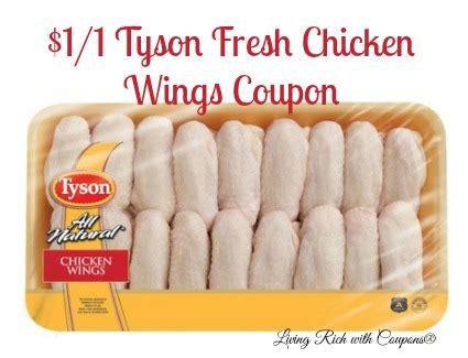 tyson chicken coupon   tyson fresh chicken wings